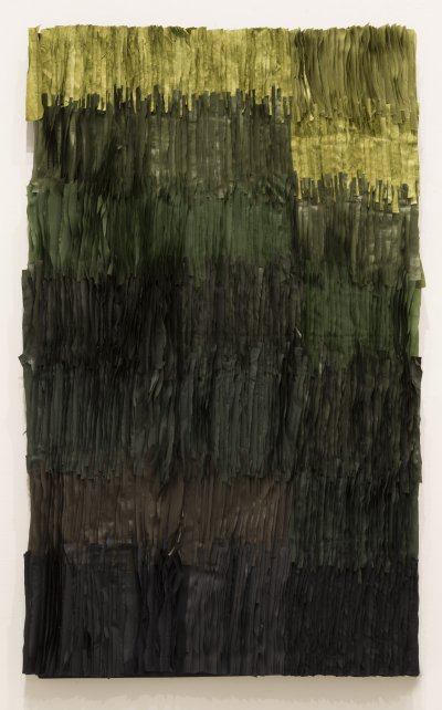 Joël Andrianomearisoa - Labyrinth of passion (green process)