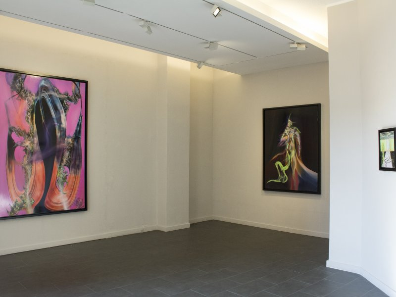"""Ruben Pang - Halogen Lung"" exhibition view"